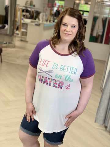 Graphic Tee Plus Size Boutique Style