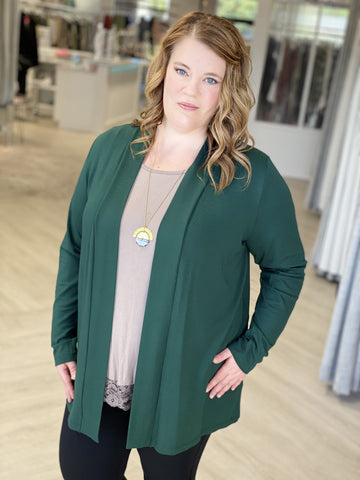LIGHTWEIGHT LONG-SLEEVED CARDIGAN