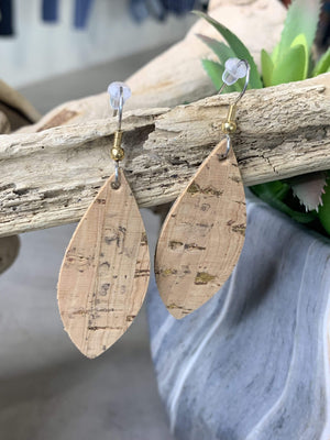MEDIUM LEATHER EARRINGS