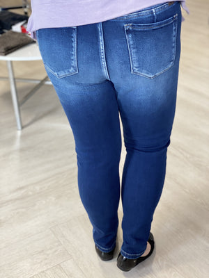 NON-DISTRESSED HIGH RISE SUPER SKINNY