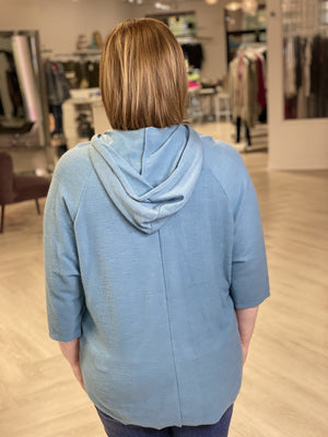 Load image into Gallery viewer, SLOUCHY DOLMAN SLEEVE HOODIE