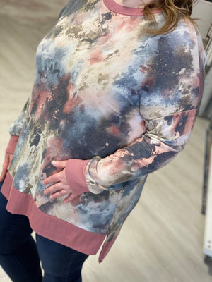 Load image into Gallery viewer, SPARKLY TIE DYE TEE