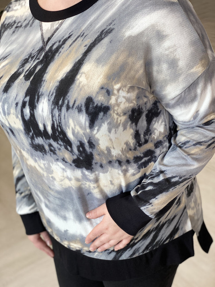 Load image into Gallery viewer, SUPER SOFT MARBLE TIE DYE TEE