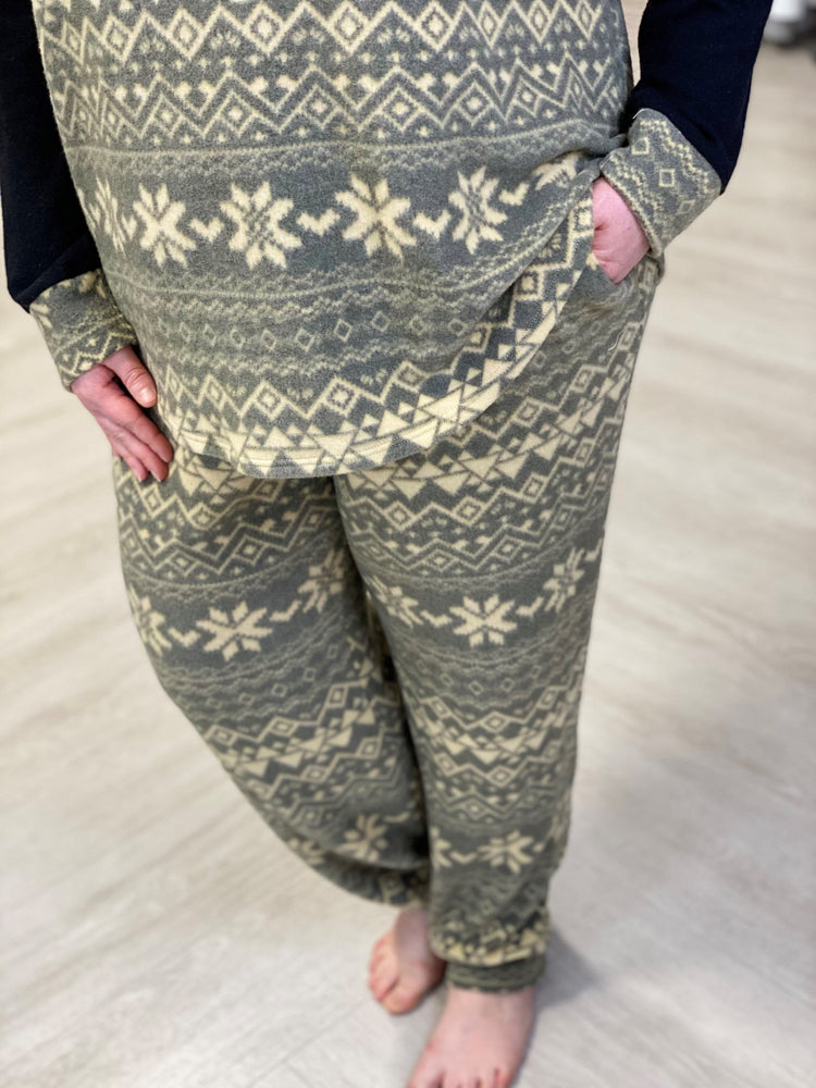 SUPER SOFT WINTER PRINT JOGGER