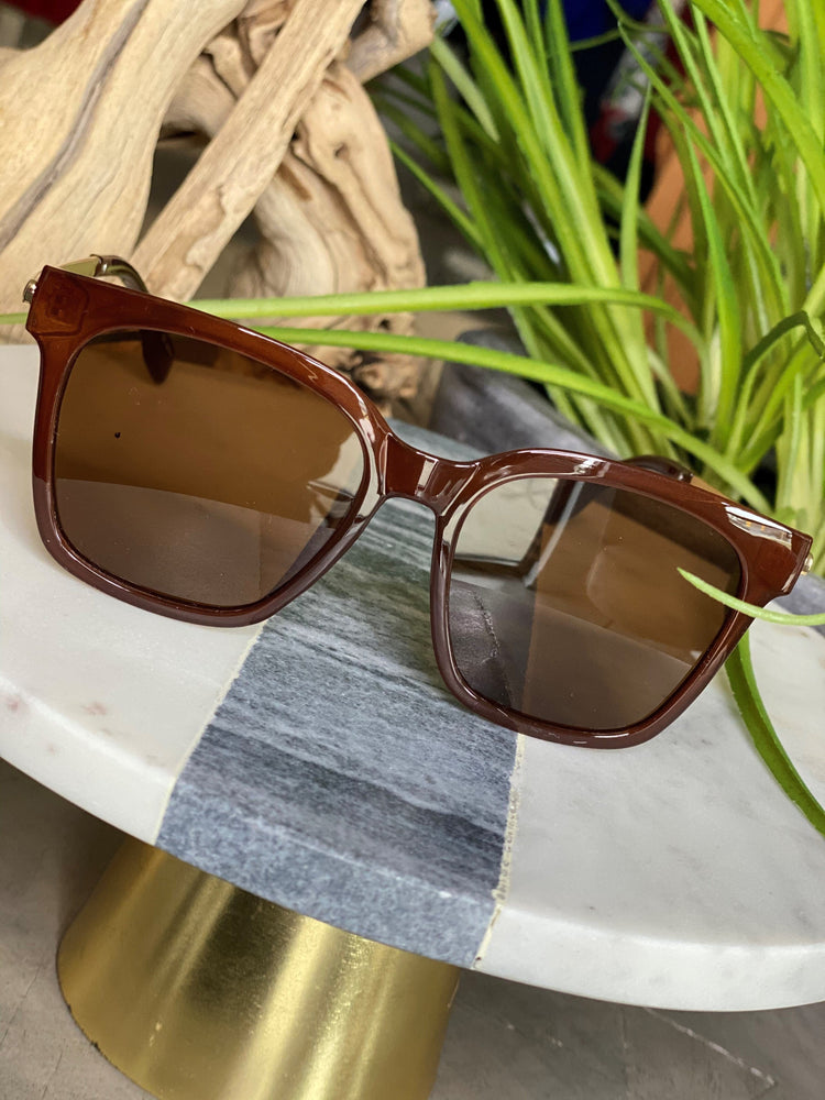 SEDONA SUNGLASSES IN WHISKEY