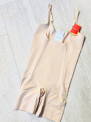 Spanx© ONCORE OPEN-BUST MID-THIGH BODYSUIT