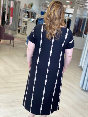 Load image into Gallery viewer, TIE DYE MAXI SHIFT DRESS
