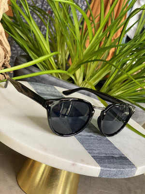 Load image into Gallery viewer, SAN FRANCISCO SUNGLASSES IN BLACK