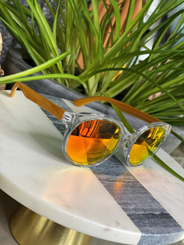 Load image into Gallery viewer, BARBADOS SUNGLASSES IN ORANGE
