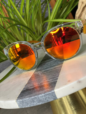 BARBADOS SUNGLASSES IN ORANGE