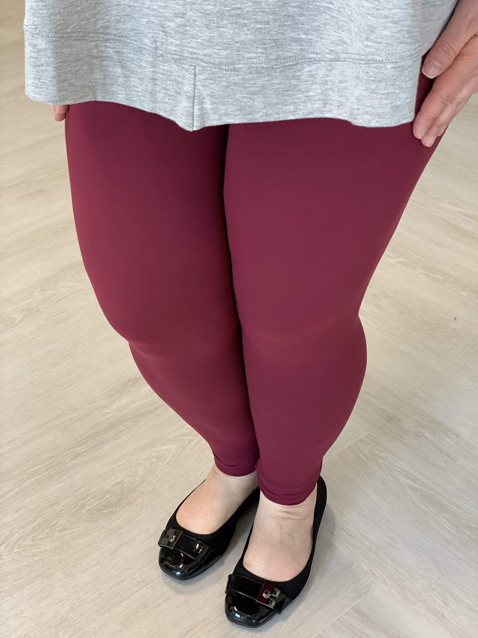 SOLID SOFT LEGGINGS