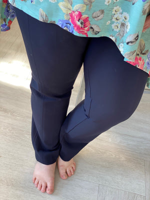 Spanx© The Perfect Black Pant, Slim Straight in Classic Navy