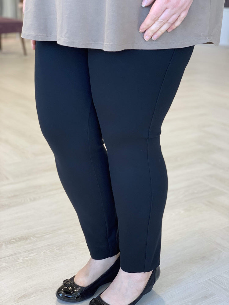 Spanx© BACKSEAM SKINNY PONTE PETITE LENGTH