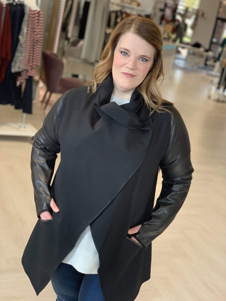 Load image into Gallery viewer, Spanx© DRAPE FRONT JACKET