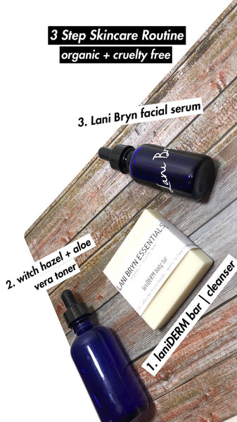 3 Step Skincare Routine