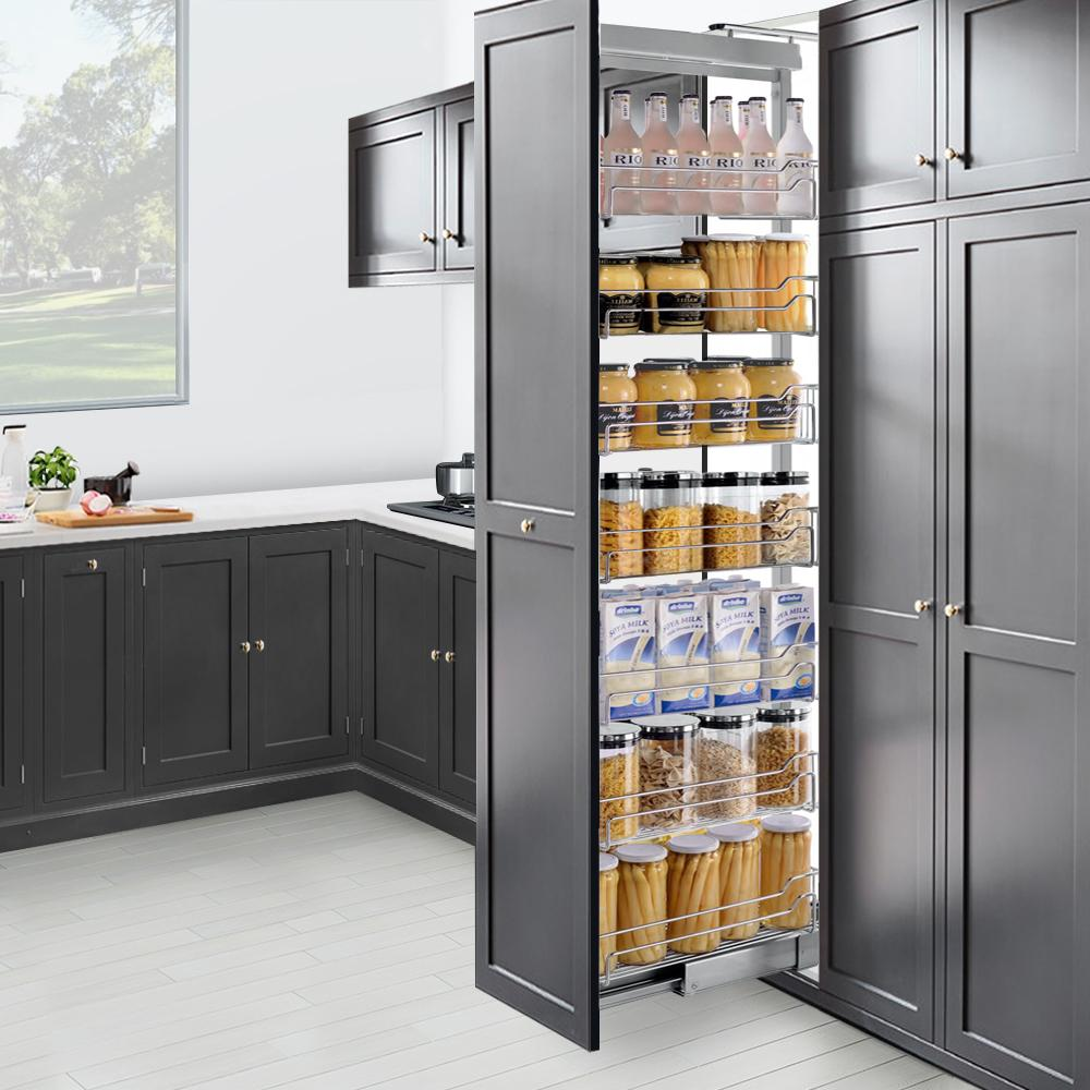Pull Out Pantry System Kitchen Storage Solutions Arova