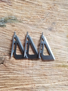 3 blade 100 grain replacement blades for 3 broadheads