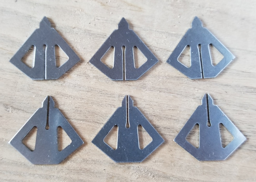 4 Blade practices blades for 3 broadheads
