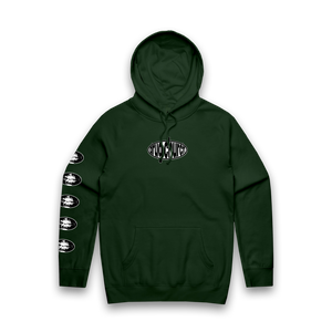 "Forest Green ""Teeth"" Pullover"