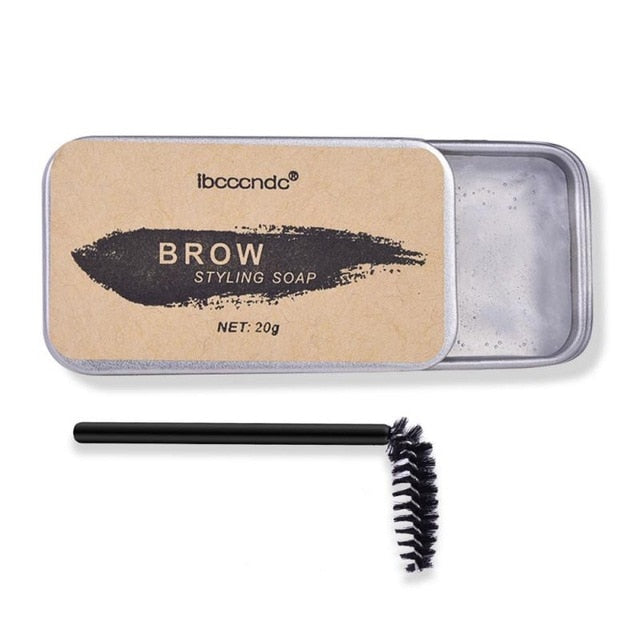 Balm Styling Brows Soap Kit 3D Feathery Brows Makeup Long Lasting Waterproof Eyebrow Setting Gel Pomade Cosmetics TSLM2