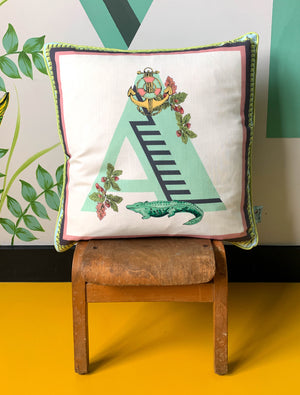 'A' Alphabet Cushion
