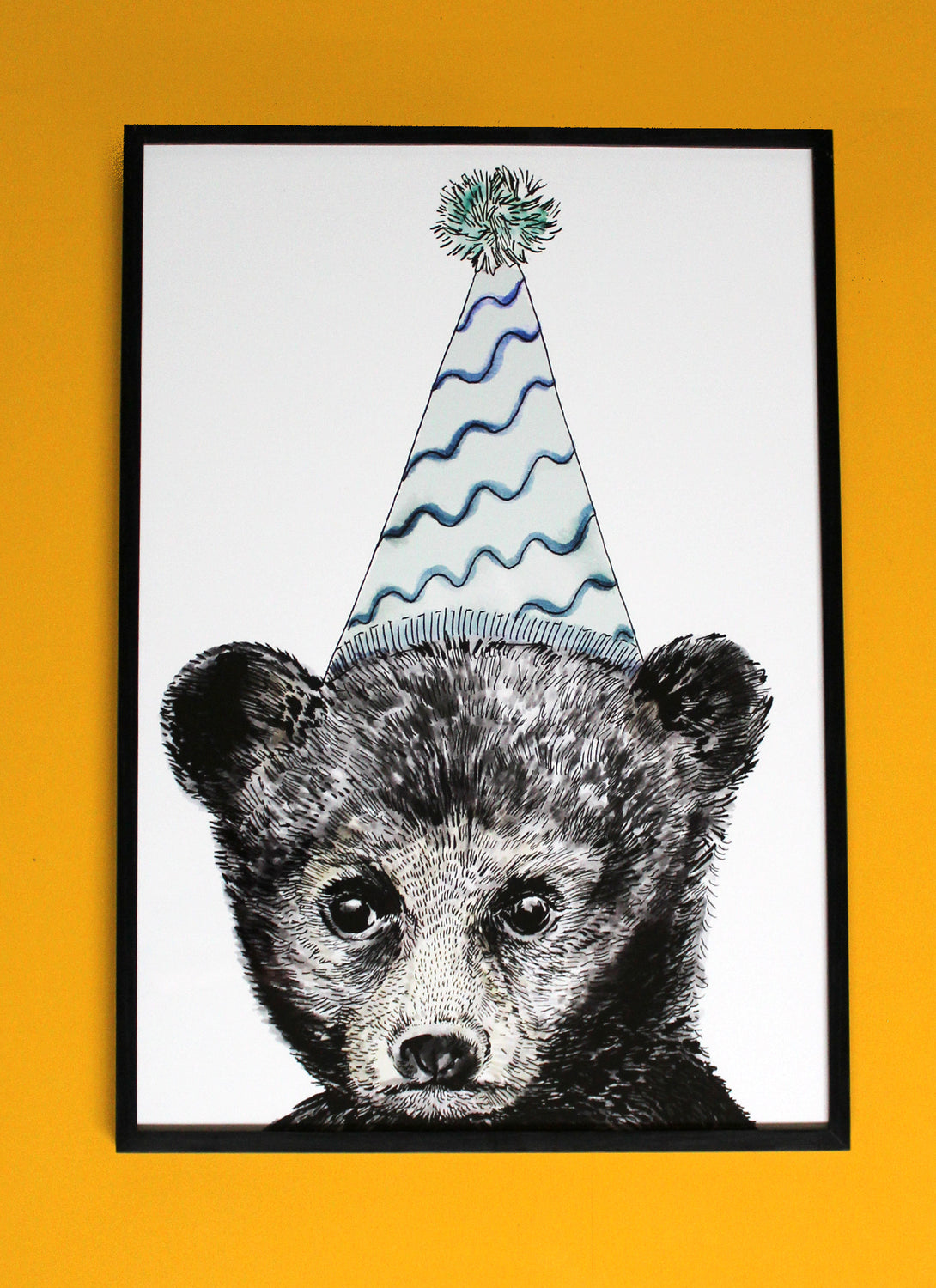 Party Bear Giclée Print