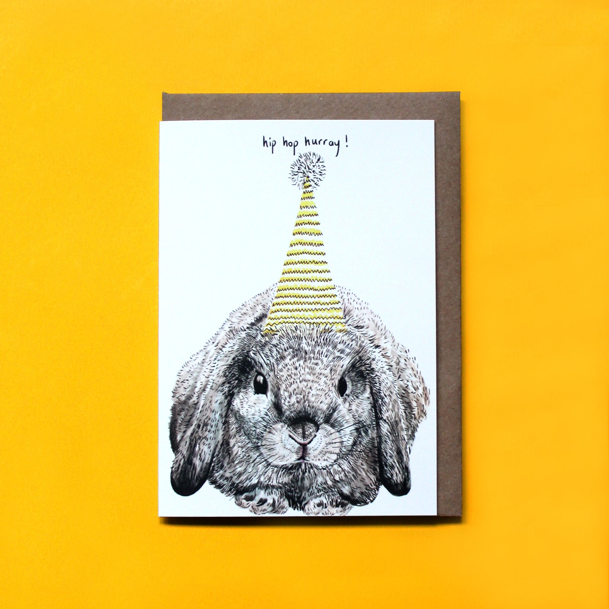 Party Bunny Card