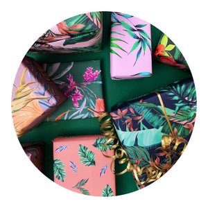 Dartmouth Tropical Gift Wrap