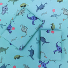 Load image into Gallery viewer, Dino Gift Wrap