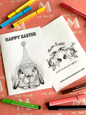 Copy of FREE Printable Easter Colouring In Card