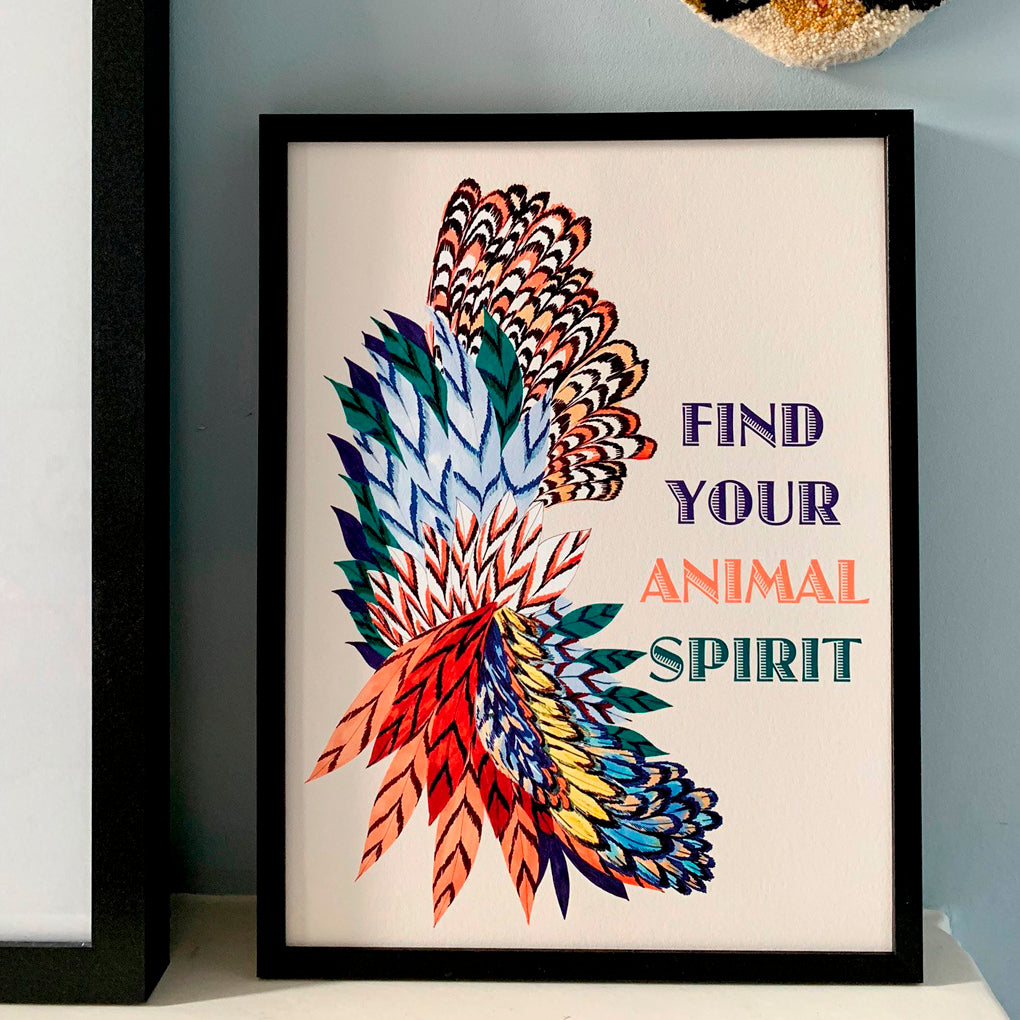 Find Your Animal Spirit Giclée Print