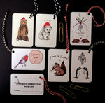 Pack of Luxury Christmas Gift Tags