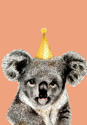 Koala Party Hat Orange