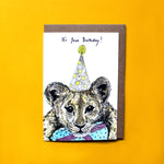 Party Lion Card