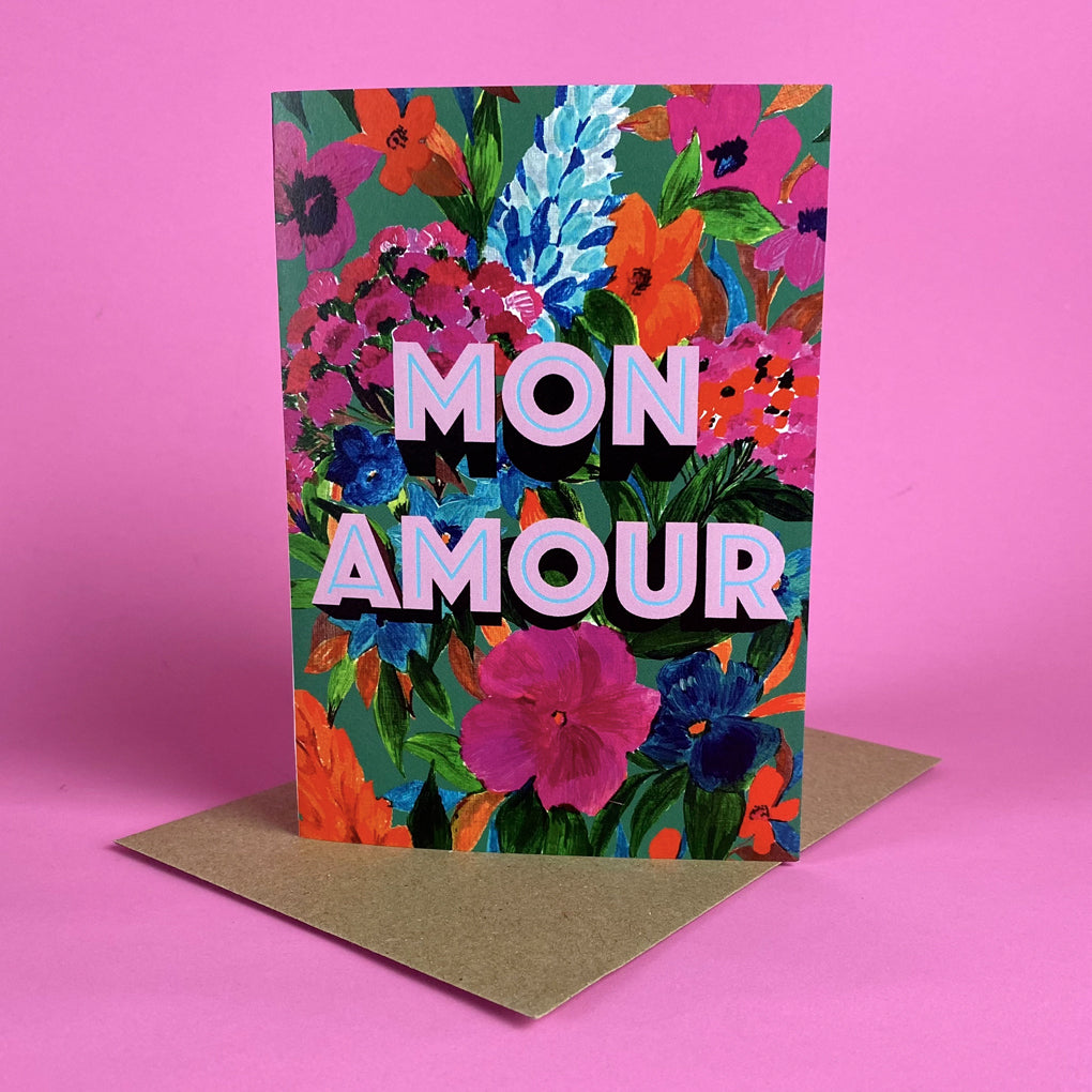 Mon Amour Card