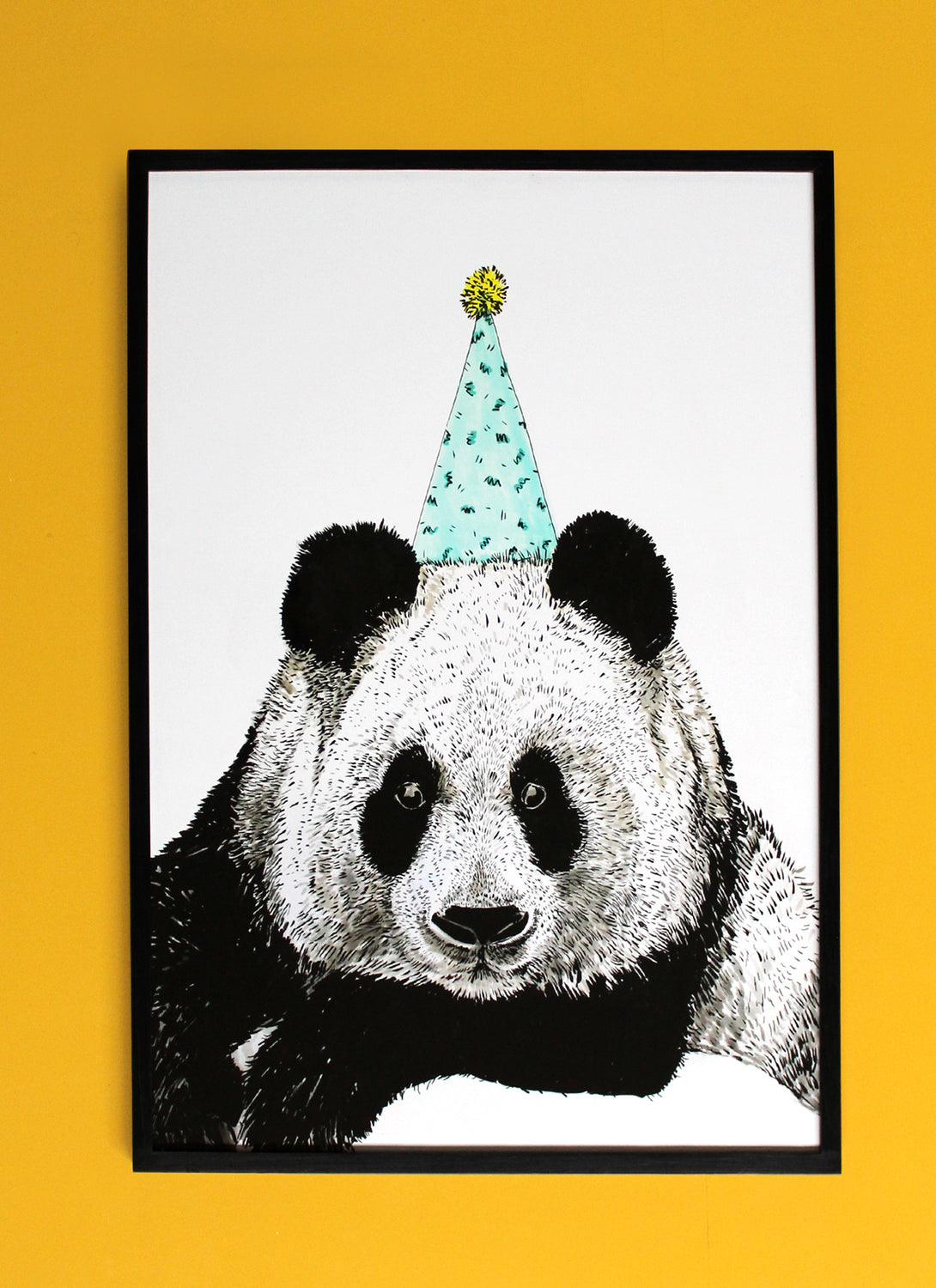 Party Panda Giclée Print