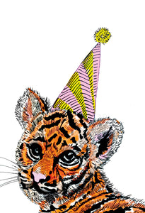 Party Tiger Print
