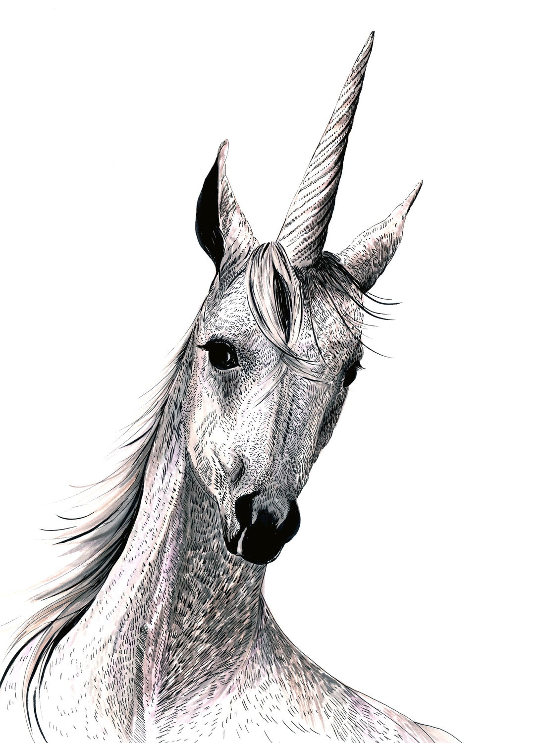Pandora the Unicorn Giclée Print