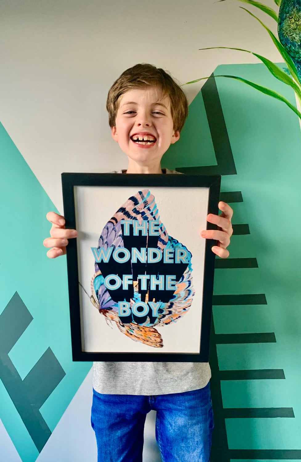 The Wonder Of The Boy Giclée Print