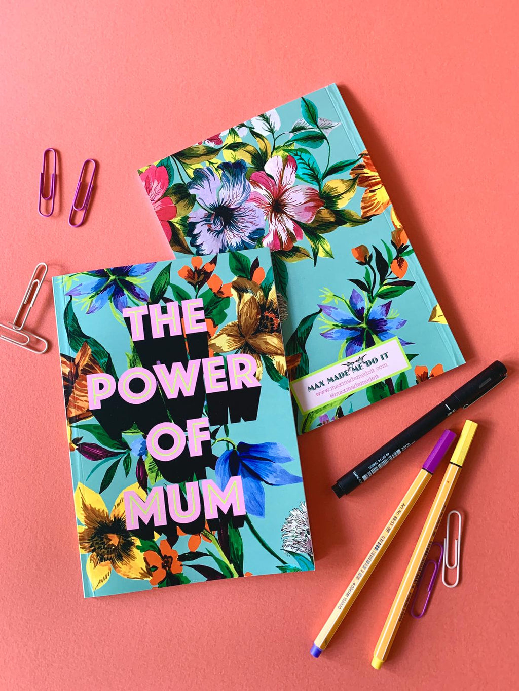 The Power Of Mum Notebook