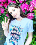 Power of the Girl T-shirt for Adults (Online Shop)