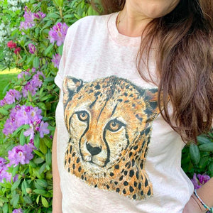 Cheetah T-shirt for Adults Unisex