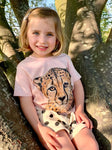 Cheetah T-shirt for Kids Unisex (Online Shop)