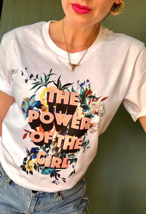 Power of the Girl T-shirt for Adults