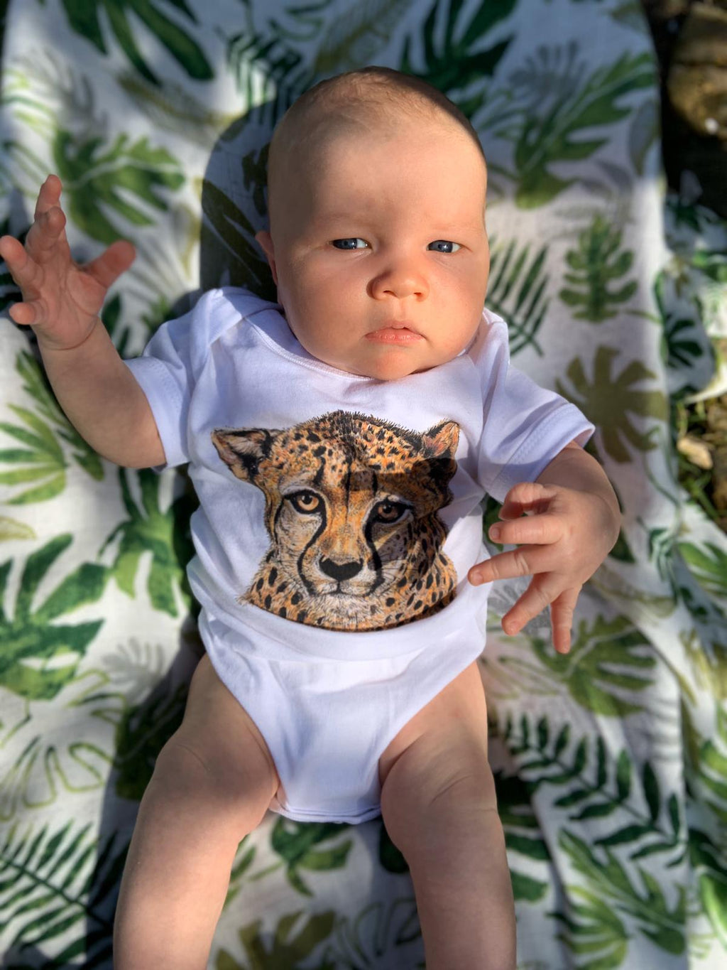 Cheetah Baby Grow Unisex