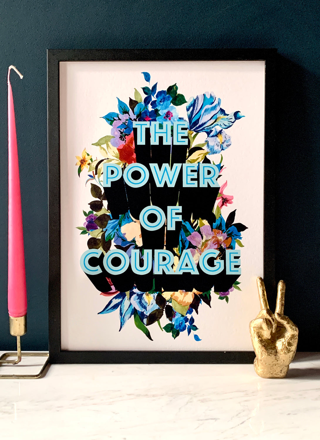 The Power Of Courage Giclée Print