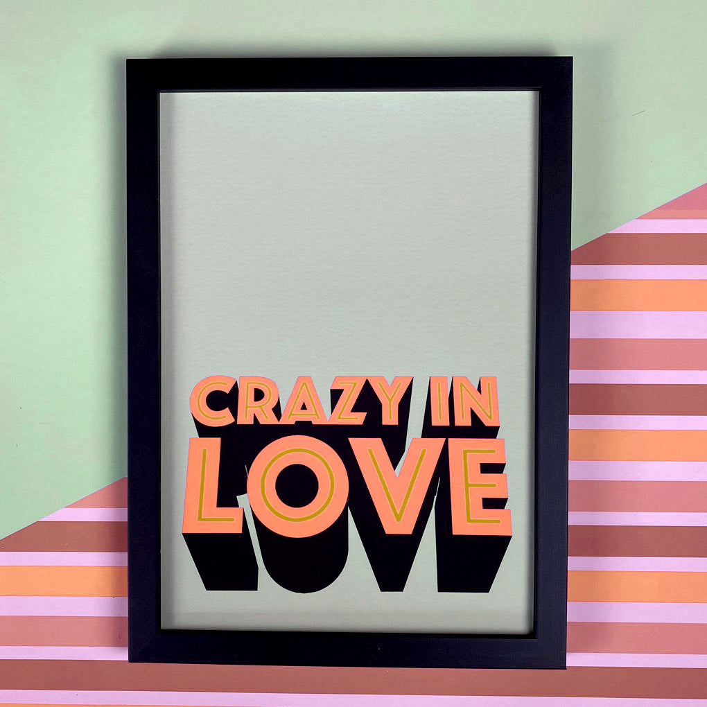 Crazy In Love Print Giclée Print
