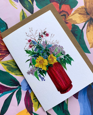 Pack Of 12 Assorted Floral Cards