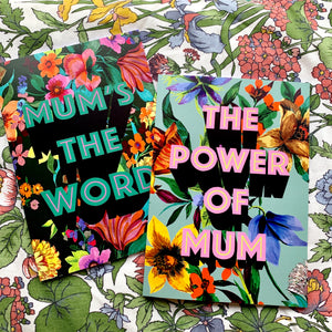 Mum's The Word Notebook