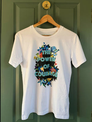 Power of Courage T-shirt for Adults (Online Shop)